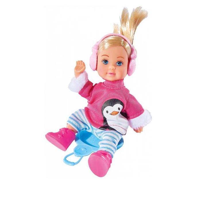 Кукла Еви в зимнем костюме, 12 см.Куклы Еви<br>Кукла Еви в зимнем костюме, 12 см.<br>