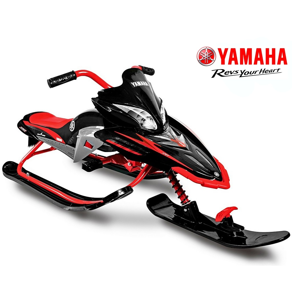 Снегокат - Yamaha Apex Snow Bike, Titanium black/red
