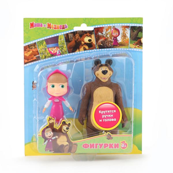 Набор фигурок «Маша и медведь»Маша и медведь игрушки<br>Набор фигурок «Маша и медведь»<br>