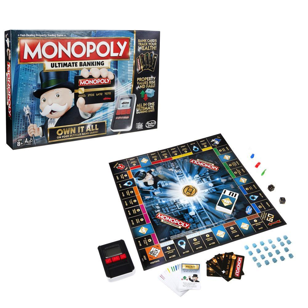 Монополия с банковскими картами обновленнаяМонополия<br>Монополия с банковскими картами обновленная<br>