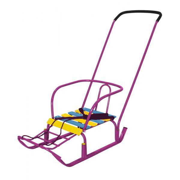 Санки детские Тимка 3, цвет - сиреневыйСанки и сани-коляски<br>Санки детские Тимка 3, цвет - сиреневый<br>