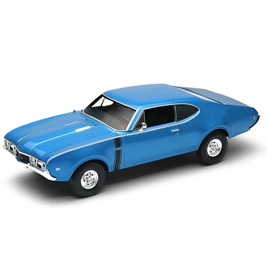 Модель винтажной машины - Oldsmobile 442, 1968, 1:34-39Винтажные модели<br>Модель винтажной машины - Oldsmobile 442, 1968, 1:34-39<br>