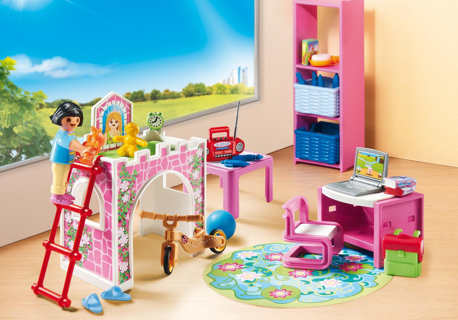 Игровой набор – Кукольный дом: Детская комната, Playmobil  - купить со скидкой