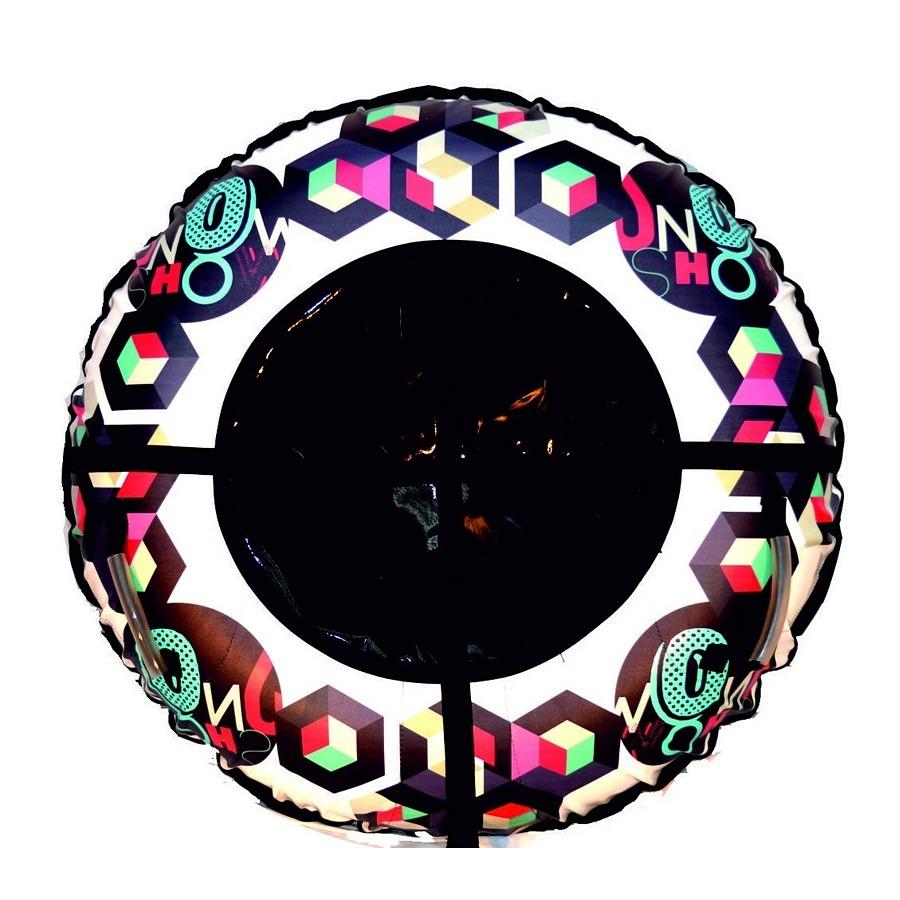 Санки надувные, Тюбинг RT, Снежное шоу, диаметр 105 см - Зимние товары, артикул: 173373