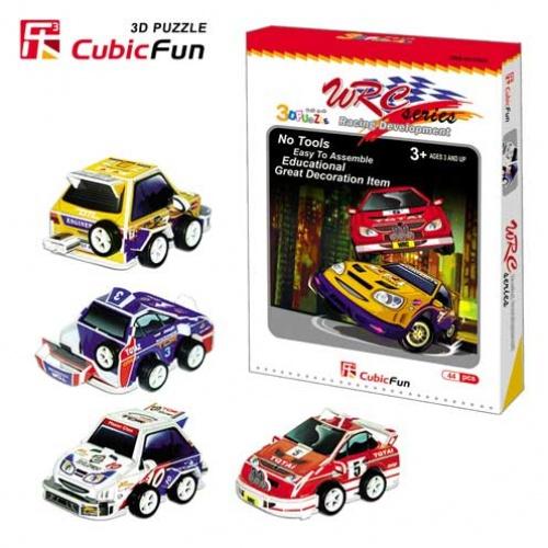 Игровая мировая автомобильная серияПазлы объёмные 3D<br>Игровая мировая автомобильная серия<br>