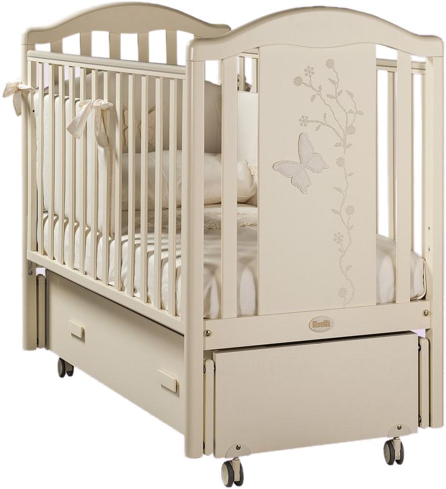 Кровать детская Privilege Swing, слоновая костьДетские кровати и мягкая мебель<br>Кровать детская Privilege Swing, слоновая кость<br>
