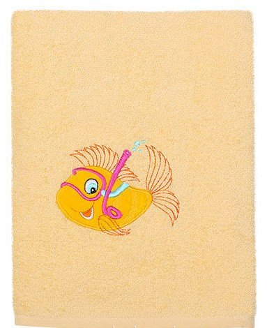 Полотенце РыбкаПолотенца и халаты<br>Полотенце Рыбка<br>