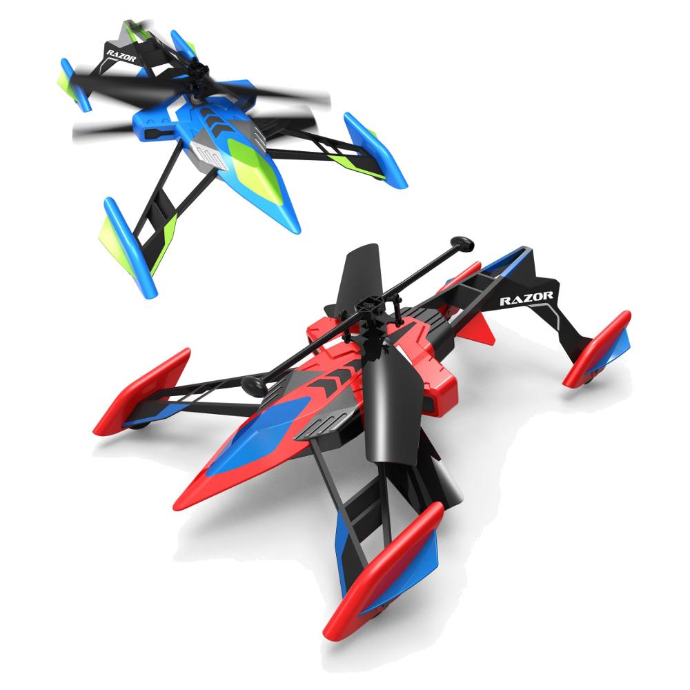 Air Hogs. Вертолёт-лезвие на инфракрасном управлении, ездит и летаетРадиоуправляемые вертолеты<br>Air Hogs. Вертолёт-лезвие на инфракрасном управлении, ездит и летает<br>