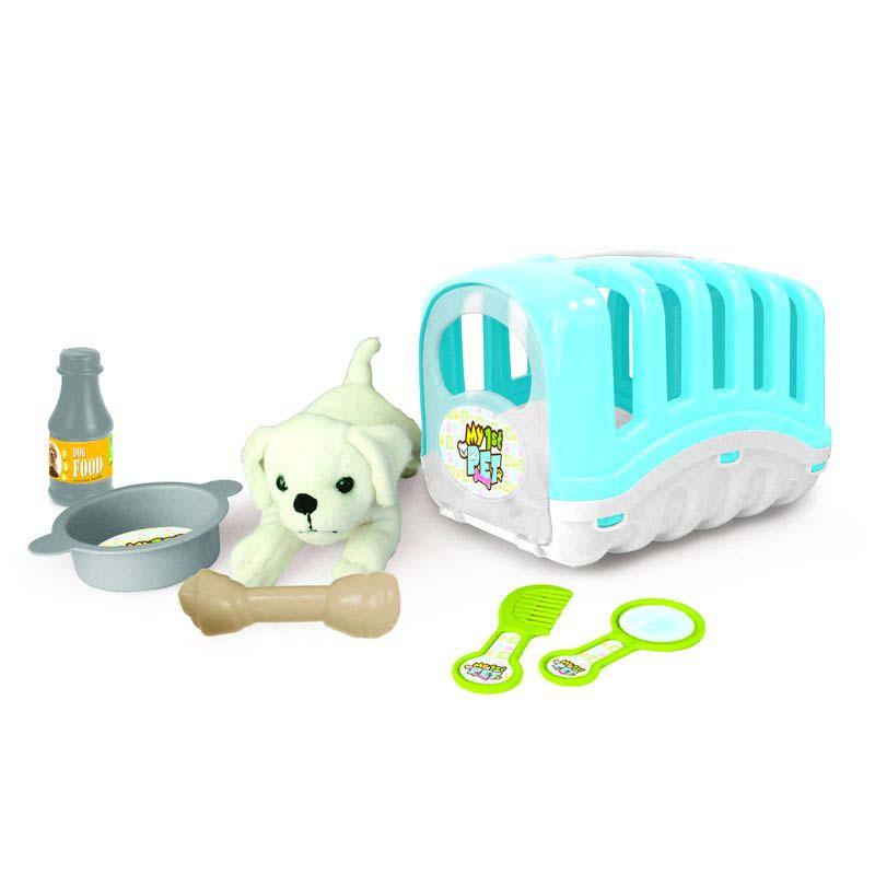Купить Игровой набор - Мой любимый щенок, голубой, Dolu