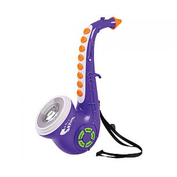 Детский электронный саксофон - Духовые инструменты, артикул: 99047