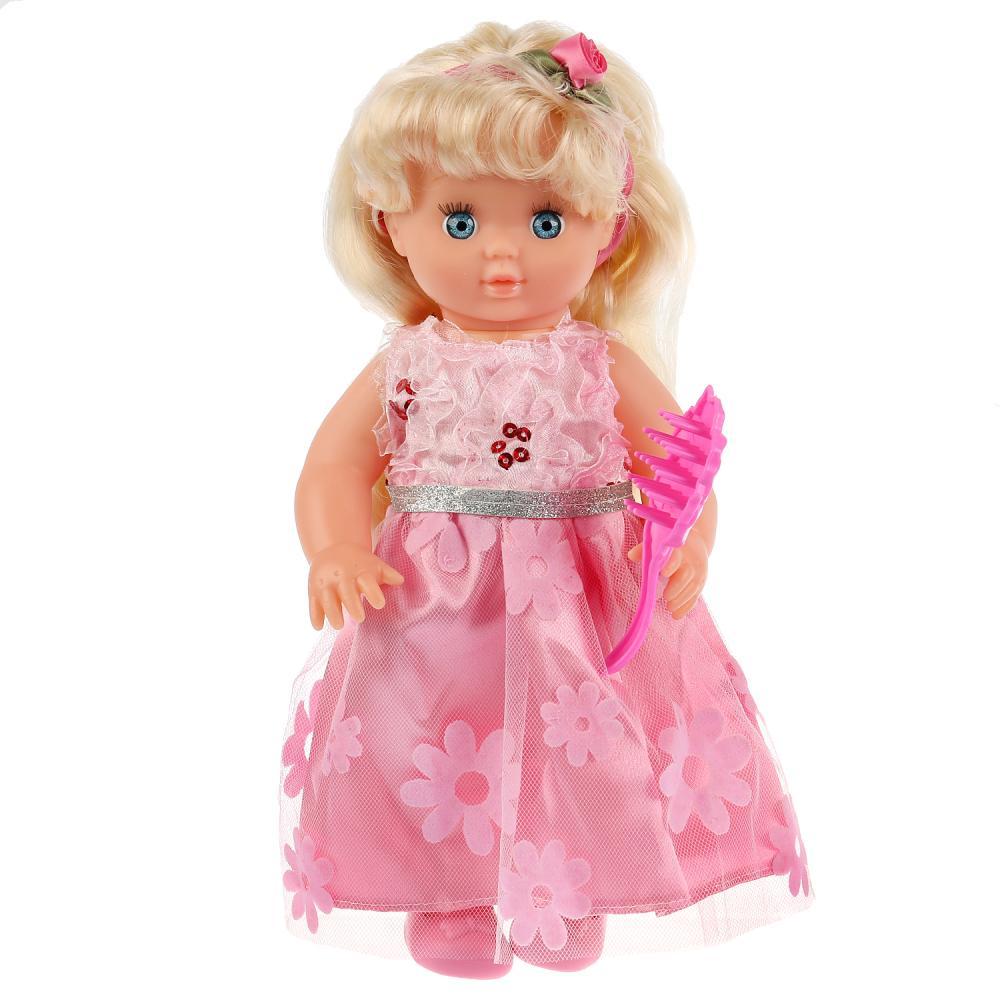 Купить Интерактивная озвученная кукла Вера песни и стихи А. Барто, с аксессуарами, 25 см, Карапуз