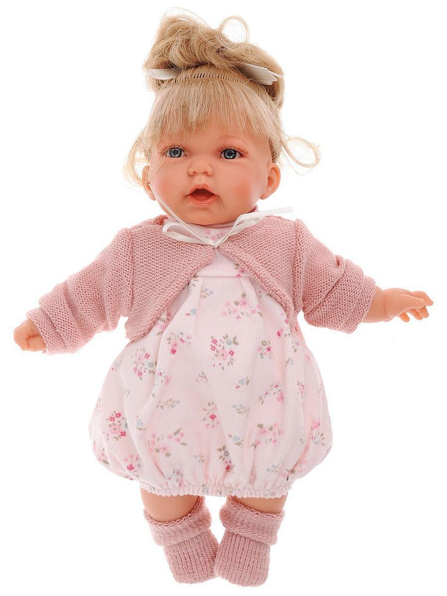 Купить Интерактивная кукла Лухан в светло-розовом, 27 см, Antonio Juan Munecas