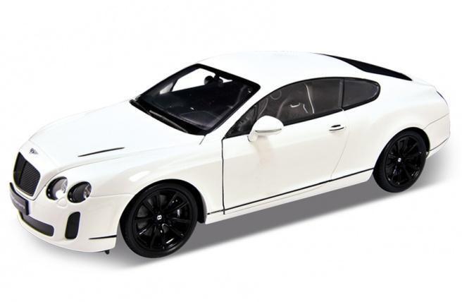 Коллекционная металлическая машинка Bentley Continental Supersports, масштаб 1:34 от Toyway