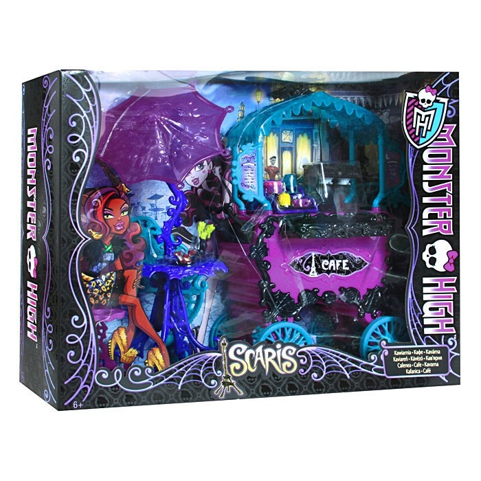 Школа монстров. Автомобиль или кафе MONSTER HIGH