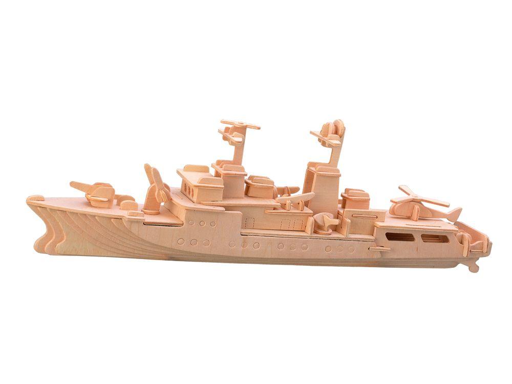 Модель деревянная сборная - СторожевикМодели кораблей для склеивания<br>Модель деревянная сборная - Сторожевик<br>