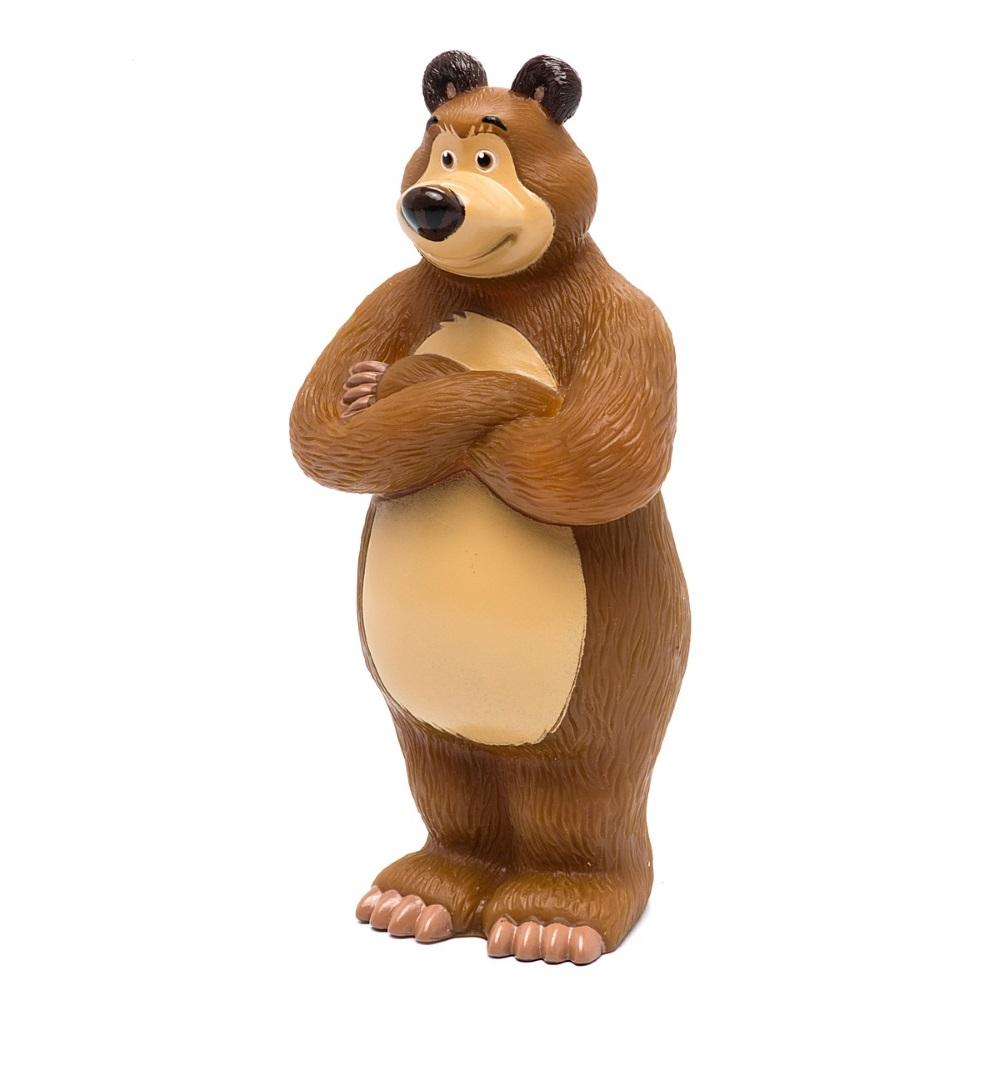 Фигурка для ванной Маша и Медведь - МедведьИгрушки Союзмультфильм<br>Фигурка для ванной Маша и Медведь - Медведь<br>