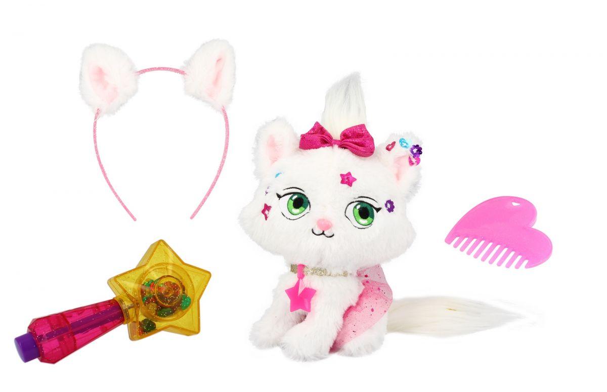 Плюшевый котенок из серии Shimmer Stars, 20 см.