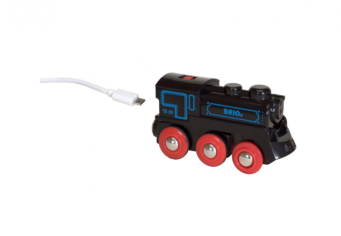 Игровой набор – Подзаряжаемый ретро-паровоз с mini-USB