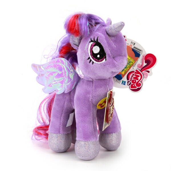 Мягкая игрушка пони Искорка из мультфильма «My Little Pony», 18 см., озвученная с русским чипом