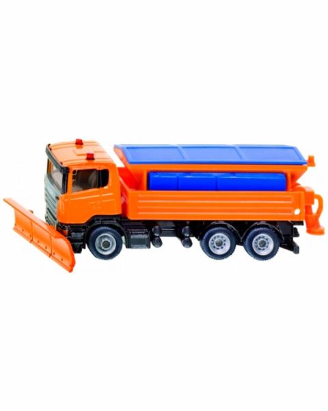 Купить Металлическая модель Scania - Снегоуборочная машина, масштаб 1:87, Siku