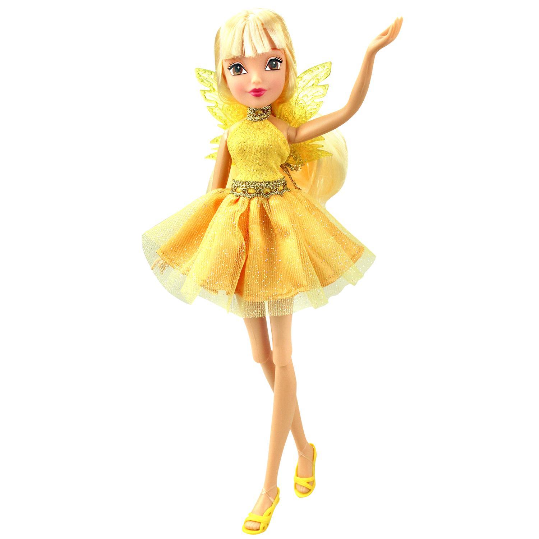 Кукла Winx Club - Мода и магия-4 - СтеллаКуклы Винкс (Winx)<br>Кукла Winx Club - Мода и магия-4 - Стелла<br>