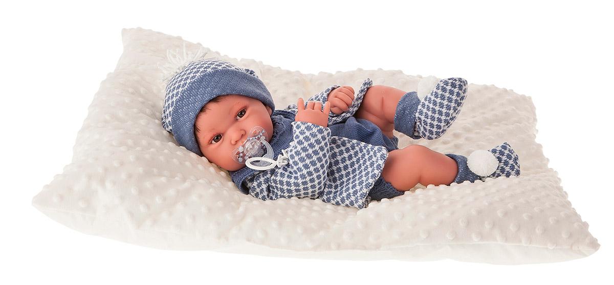 Купить Кукла-младенец Анжело в голубом, 42 см, Antonio Juan Munecas