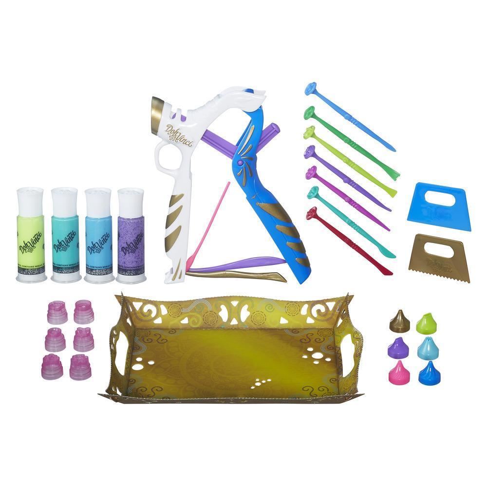 Dohvinci. Набор для творчества «Платиновый Стайлер» - Пластилин Doh-Vinci от Play-Doh, артикул: 135173