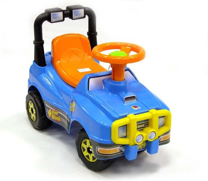 Машинка каталка ДжипМашинки-каталки для детей<br>Машинка-каталка Джип <br>Размер (Длина х Ширина х Высота): 62 x 29 x 42 см.<br>