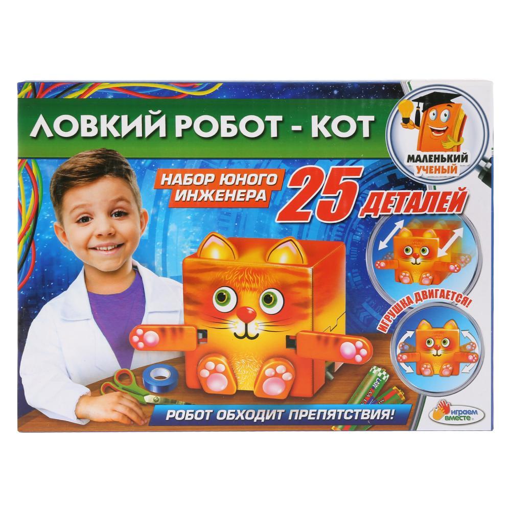 Купить Игровой набор - Опыты: Ловкий робот - Кот, Играем вместе