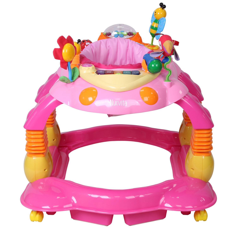 Купить Детские ходунки Nuovita Letizia, цвет rosa/розовый