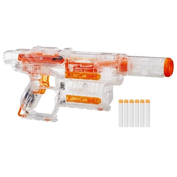 Купить Nerf Нерф Бластер со стрелами Модулус Шэдоу, Hasbro