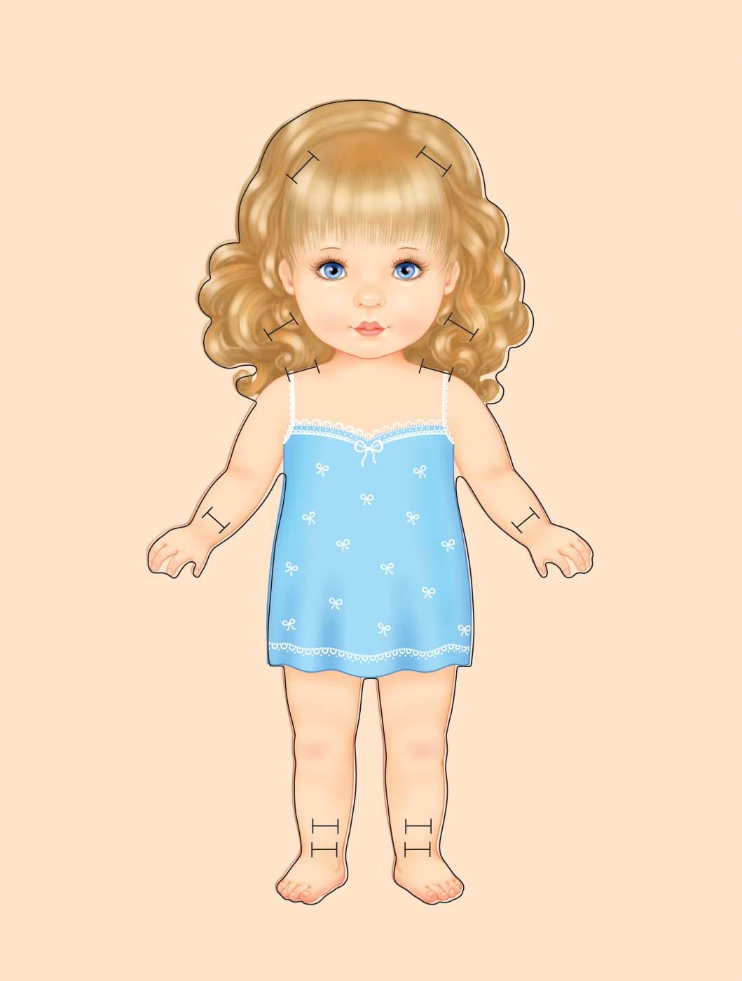 Кукла рисовать фото