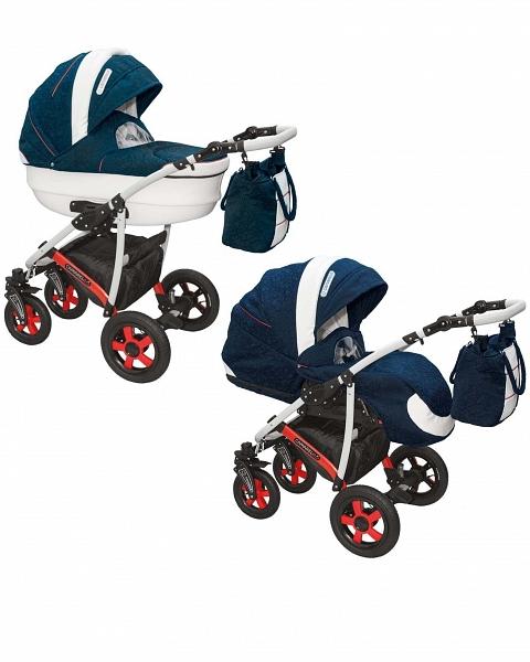 Детская коляска Camarelo Carmela 2 в 1 - cr-27Детские коляски 2 в 1<br>Детская коляска Camarelo Carmela 2 в 1 - cr-27<br>