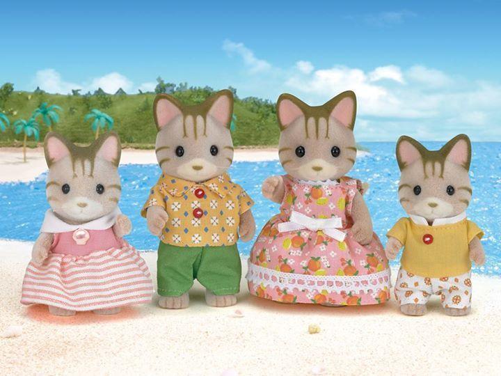 Набор «Семья Полосатых Кошек»Семьи и малыши<br>Набор «Семья Полосатых Кошек»<br>