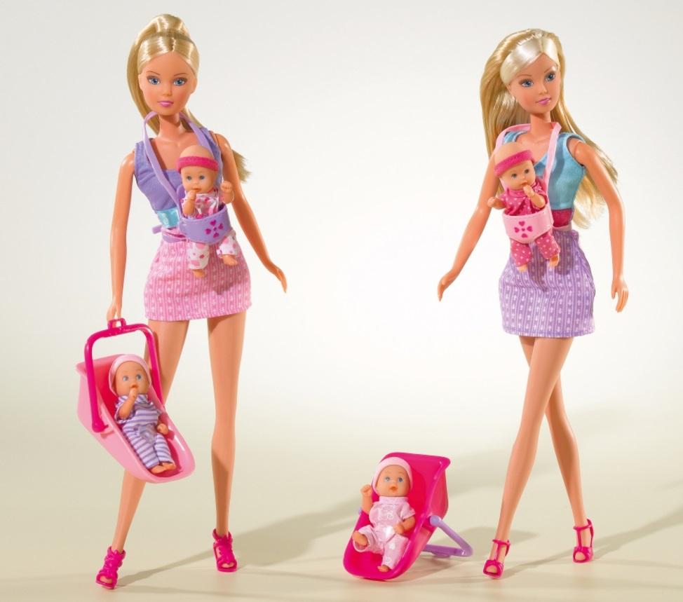 Кукла Штеффи – няня, 2 видаКуклы Steffi (Штеффи)<br>Кукла Штеффи – няня, 2 вида<br>