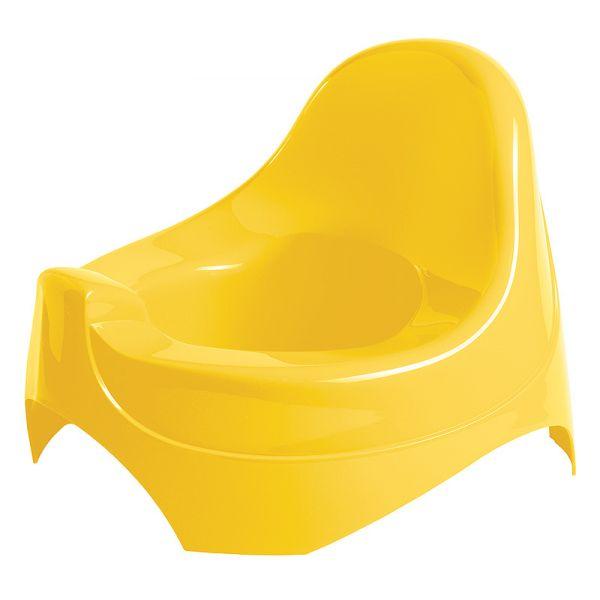 Горшок детский, цвет желтый