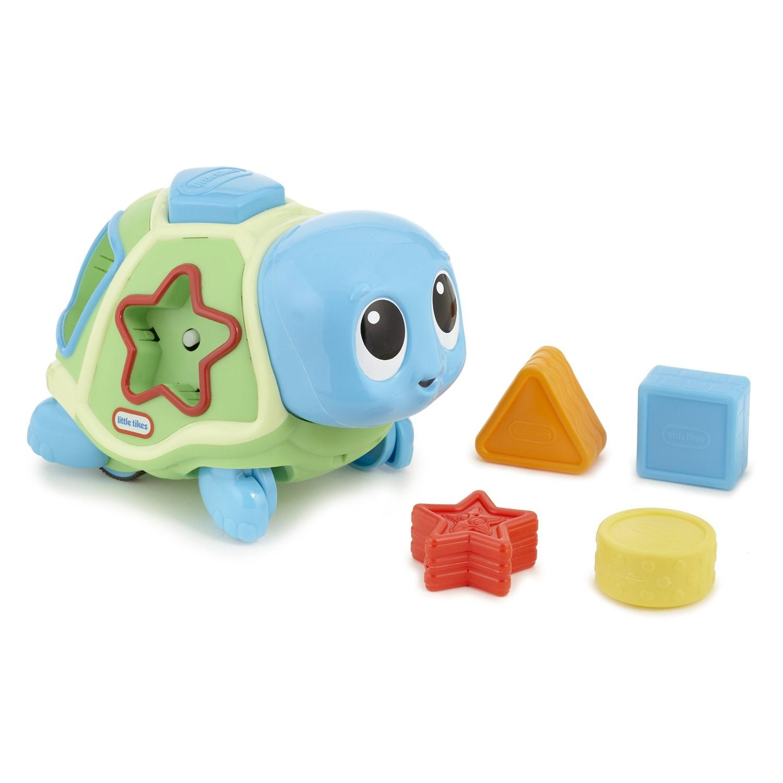 Развиваща игрушка «Ползаща черепаха-сортер», со звуковыми ффектамиСортеры, пирамидки<br>Развиваща игрушка «Ползаща черепаха-сортер», со звуковыми ффектами<br>
