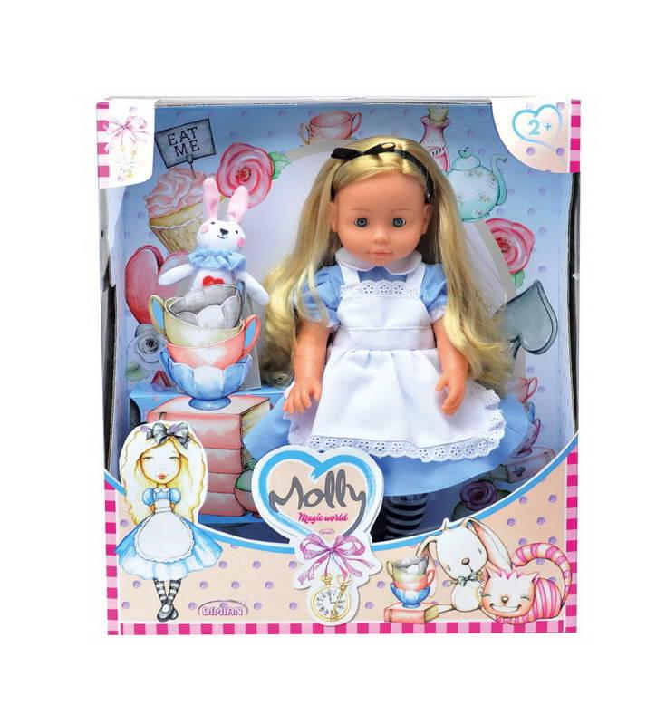 Купить Кукла из серии Bambina Bebe - Molly Magic World, 40 см., звуковые эффекты, DIMIAN