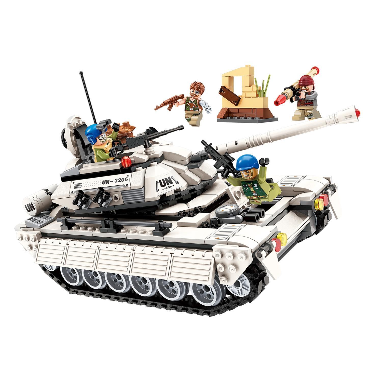 Конструктор – Танк с фигурками и аксессуарами, 430 деталей ) по цене 1 997