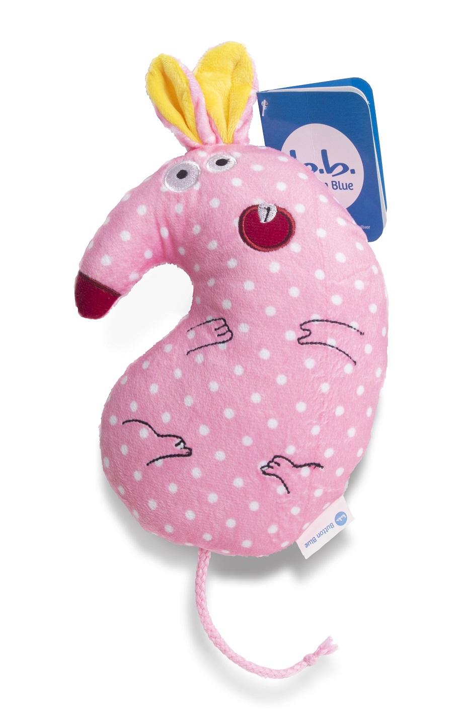 Мягкая игрушка - мышка Тося, 18 см. фото