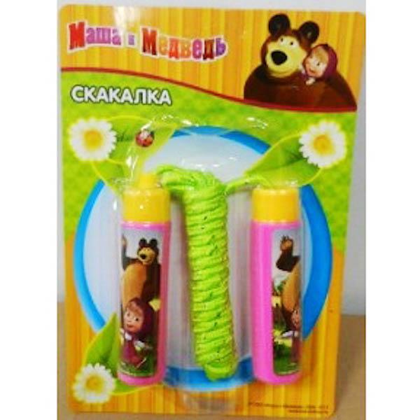 Скакалка детская - Маша и Медведь sim)Скакалки<br>Скакалка детская - Маша и Медведь sim)<br>