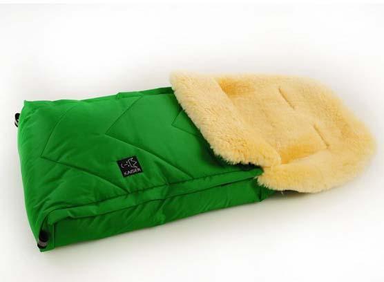Купить Конверт меховой – Dublas, green, Kaiser