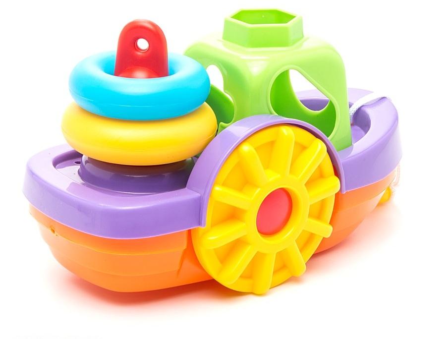 Веселый кораблик - игрушка для ванны