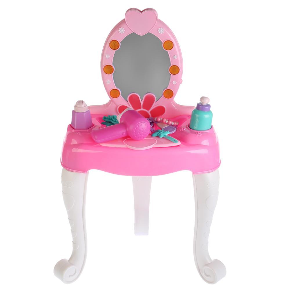 Купить Трюмо-столик туалетный, свет и звук, с аксессуарами