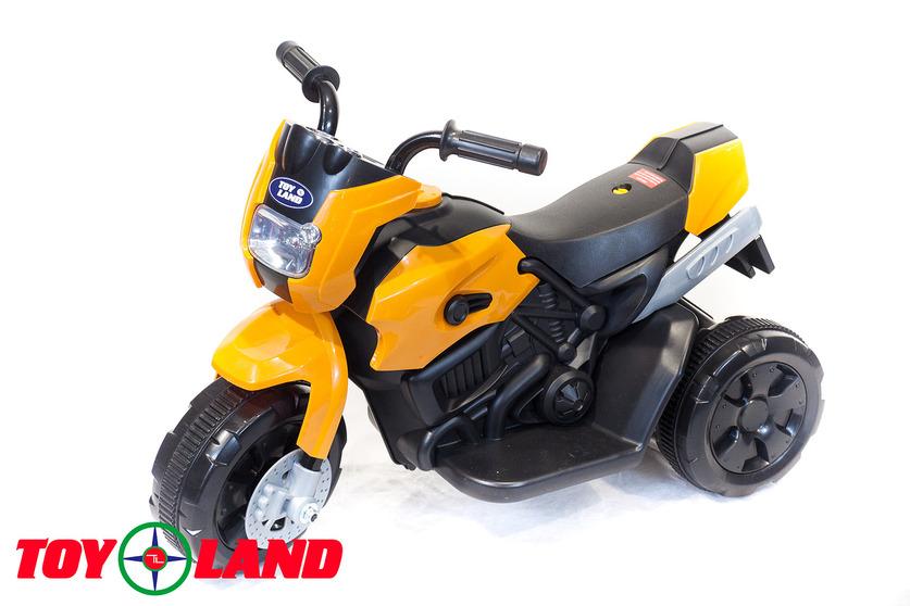 Электромотоцикл Toyland оранжевого цветаМотоциклы детские на аккумуляторе<br>Электромотоцикл Toyland оранжевого цвета<br>