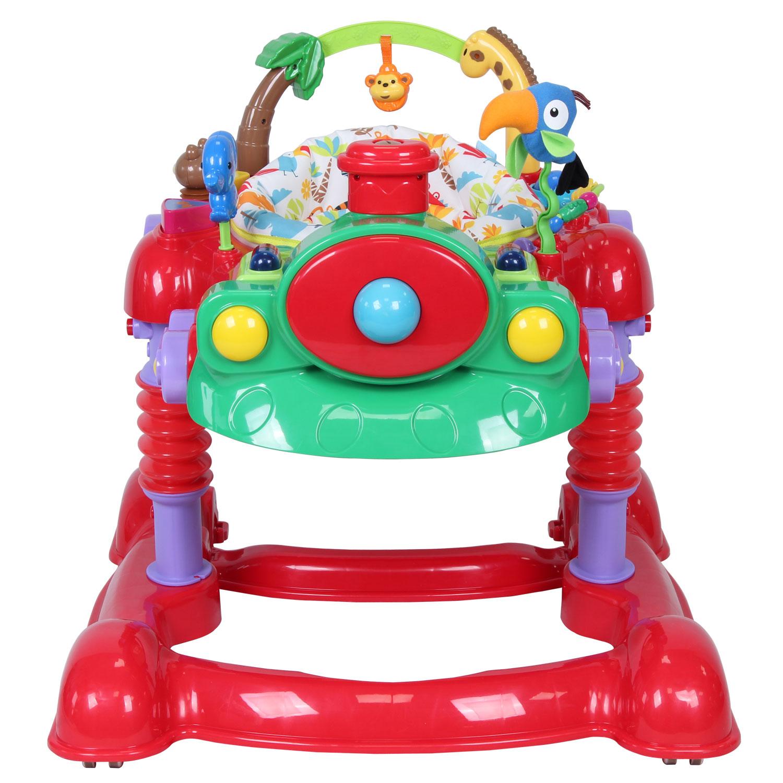 Купить Детские ходунки Nuovita Treno, цвет rosso/красный
