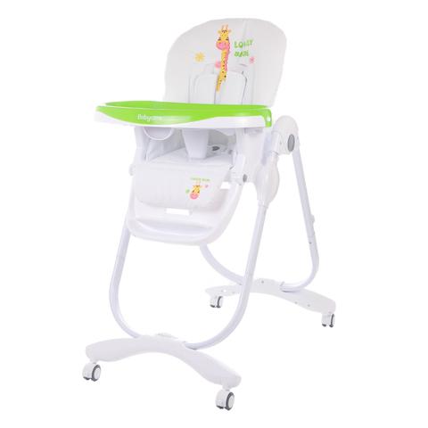Детский стульчик для кормления Baby Care – Trona, зеленыйСтульчики для кормления<br>Детский стульчик для кормления Baby Care – Trona, зеленый<br>