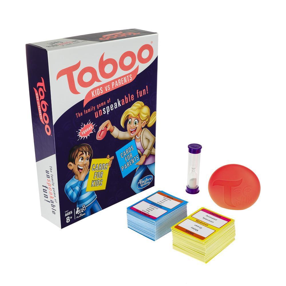 Hasbro Games. Игра настольная – Табу. Дети против родителей фото