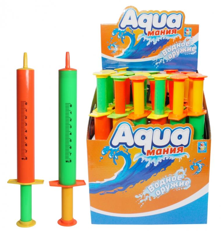Аквамания – Водяной шприц, помповый