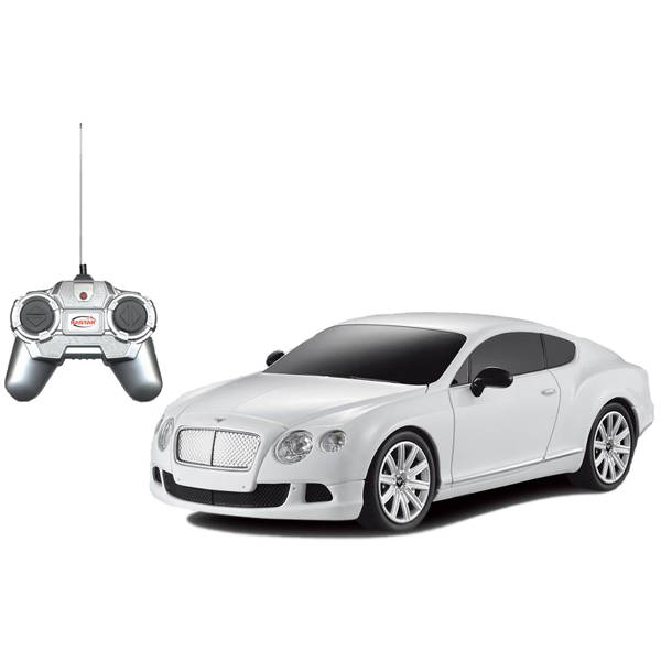 Купить Машина на р/у - Bentley Continental GT speed, белый, 1:24, Rastar